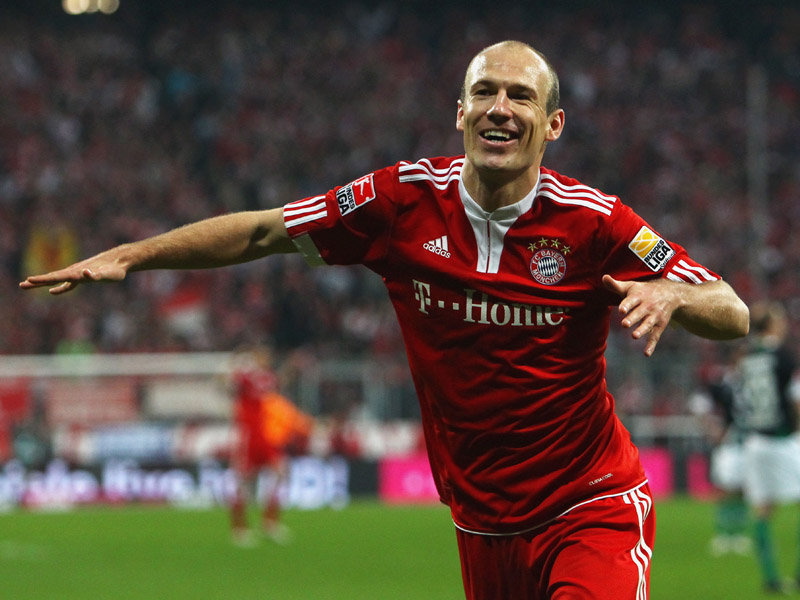 If Arjen can go, things are looking up