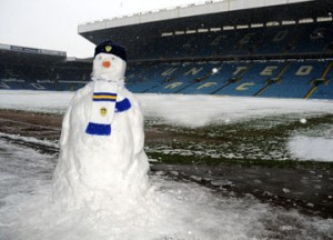 Elland Road snow