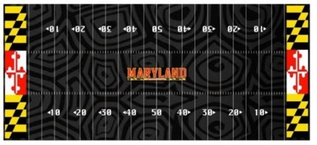 Maryland's rumored black turf.