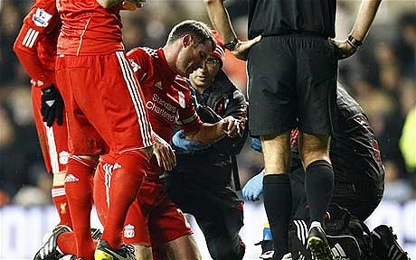carragher injury