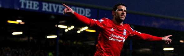 maxi rodriguez liverpool celebrate