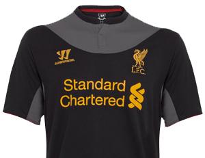 liverpool new away shirt