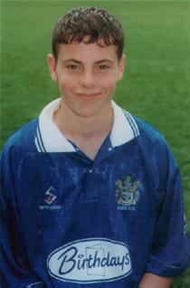 Former Reading FC man Chris Armstrong in his Bury days