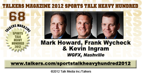 104.5 Wake Up Zone, Mark Howard, Kevin Ingram, Frank Wychek