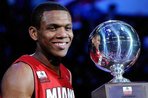 James Jones 3 Point Champion
