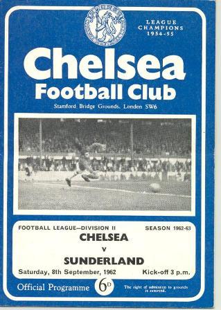 Chelsea-Sunderland-08.09.62-l