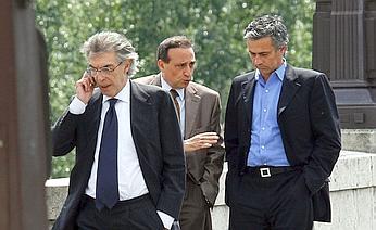 Moratti and Mourinho meet in Paris
