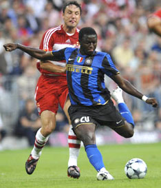 Muntari at Bayern