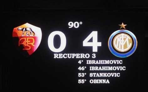 Inter 4 - 0 Roma, Matchday 7