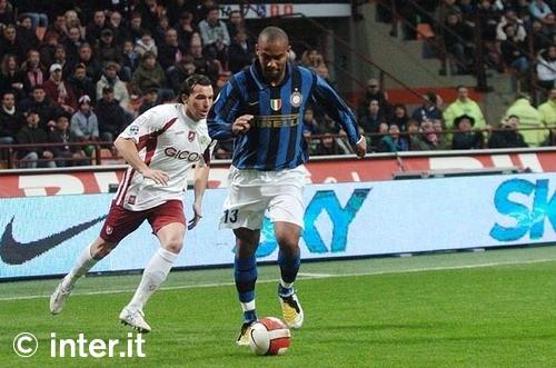 Maicon against Reggina last season