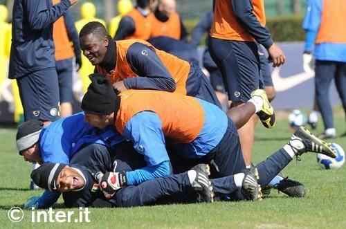 Everyone pile on Adriano