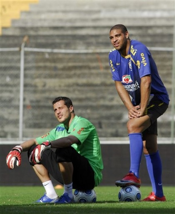 Adriano and Julio Cesar - Please stay healthy.