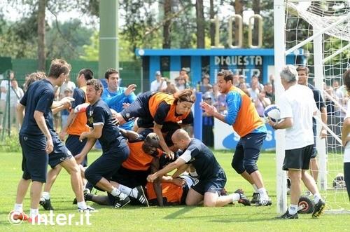 The last training session of the season