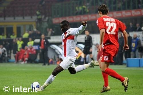 Balotelli against Fiorentina, March 2009