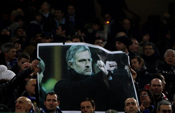Fan protest against Mourinho ban