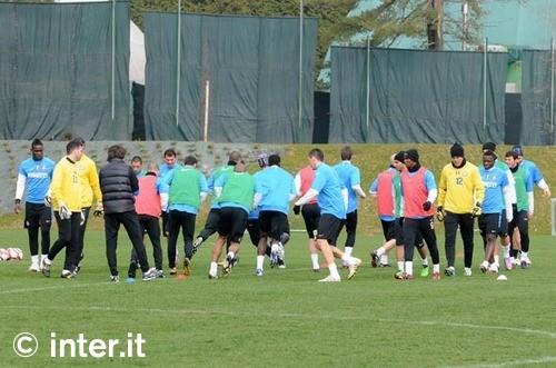pre Palermo training