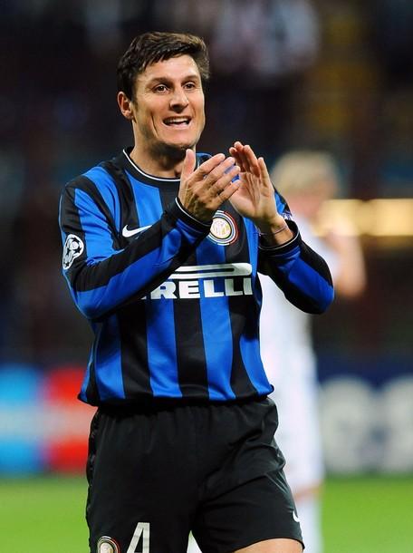 Javier Zanetti - 500 times Inter
