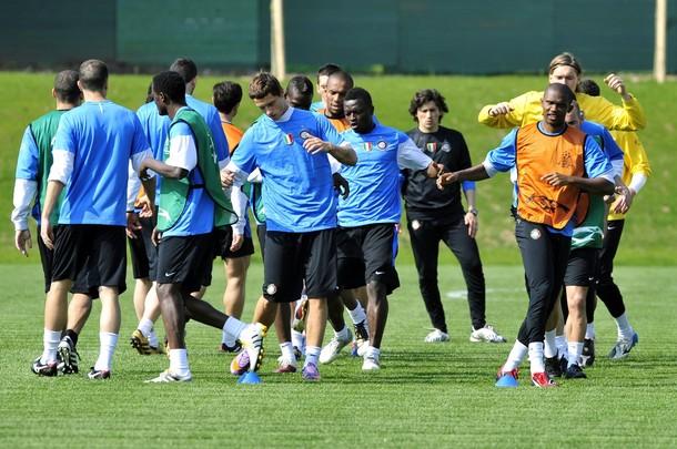 Pre Barcelona training