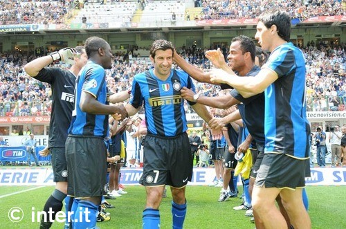 Figo's last game - against Atalanta