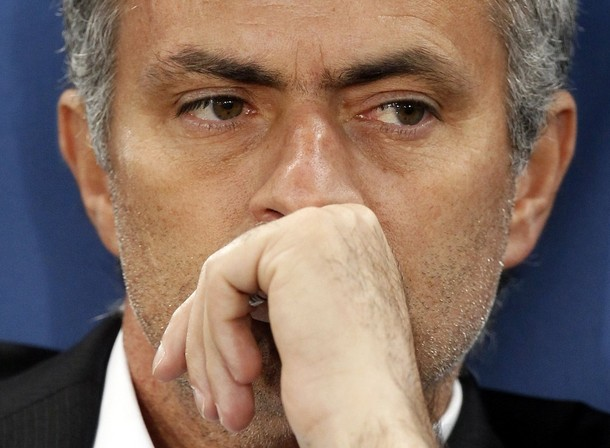 Mourinho  thinking great thoughts