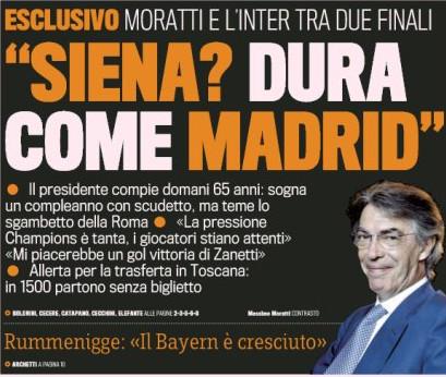 La Gazzetta - front page