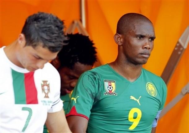 Portugal Cameroon Eto'o