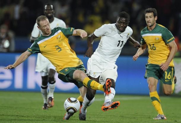 Muntari against Australia