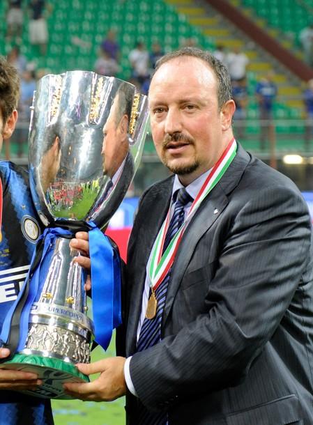 Rafa's first trophy