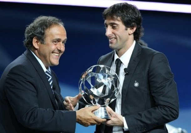 Milito wins Best player 2009/10