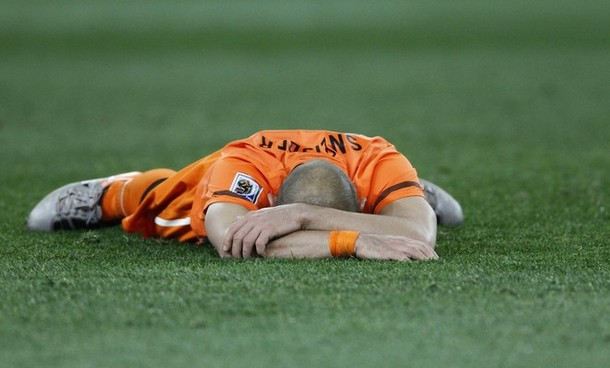 Sneijder didn't win the world cup but it still sapped him