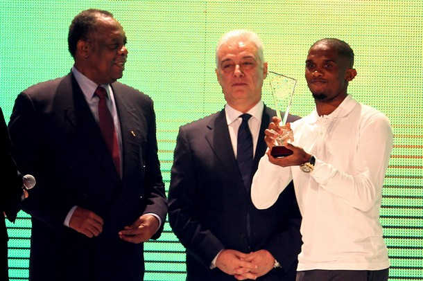 Samuel Eto'o sets another record: 4-time African Footballer of the Year!