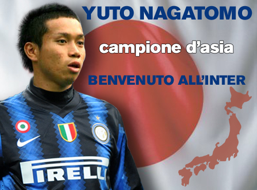 Nagatomo, welcome to Inter