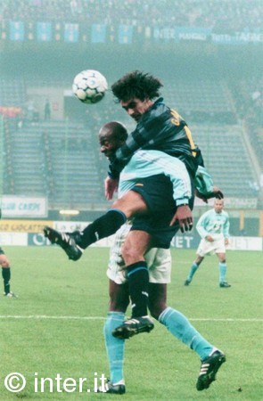 Fabio Galante, the last Inter player to score against Napoli