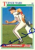 Turner-ward-autographed-baseball-card-cleveland-indians-1991-score-732-33-t2094775-170_medium