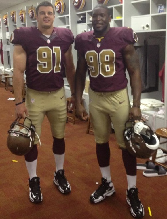 redskins 80th anniversary jersey