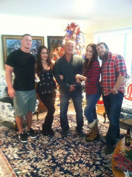 Love Between The Ropes: Cena, D-Bry, the Bellas; Rhodes' Engagement - Cageside Seats Randy Orton And His Sister