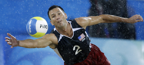 adidas Men`s USA Volleyball Tee Team Power Red   Tennis
