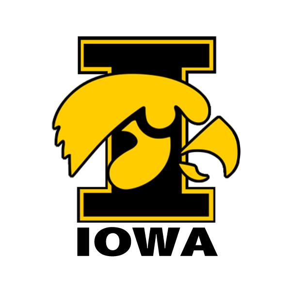 Iowa Hawkeyes Herky Logo The iowa hawkeyes come to