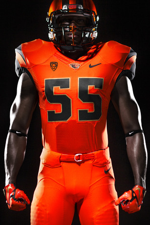 New Oregon State logo, football uniforms revealed