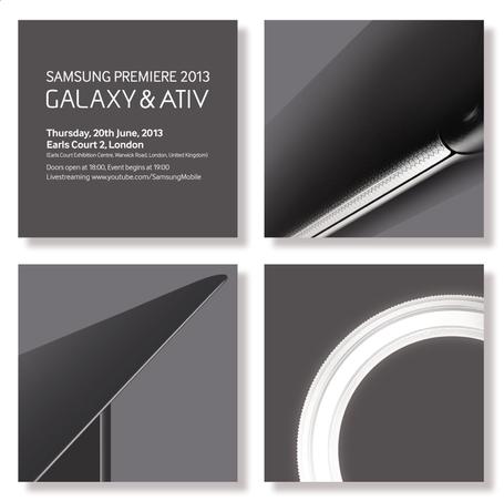 Samsung เตรียมเปิดตัว Galaxy และ ATIV รุ่นใหม่ในวันที่ 20 เดือนมิถุนายนนี้
