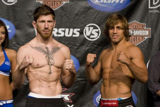 Wec 41 urijah faber vs mike brown ii weigh in live results