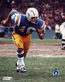 Chargers By The Jersey Numbers 19 Bolts From The Blue