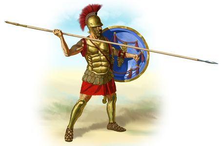 Ancient_greece_hoplite_with_his_hoplon_and_dory_medium