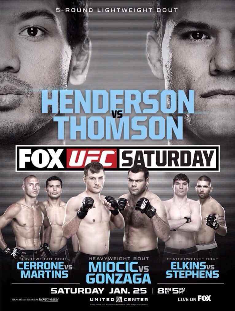 UFC on Fox: Machida vs. Rockhold - Wikipedia
