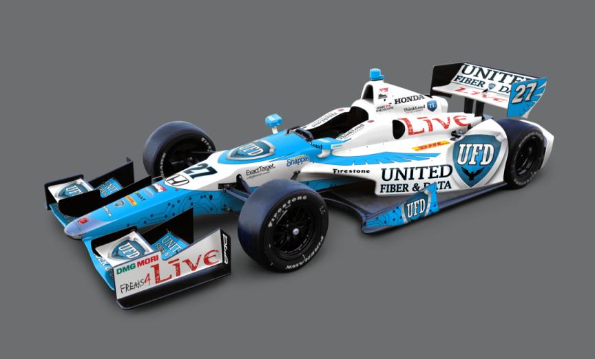 Andretti Autosport Unveils 2014 Driver Lineup Paint