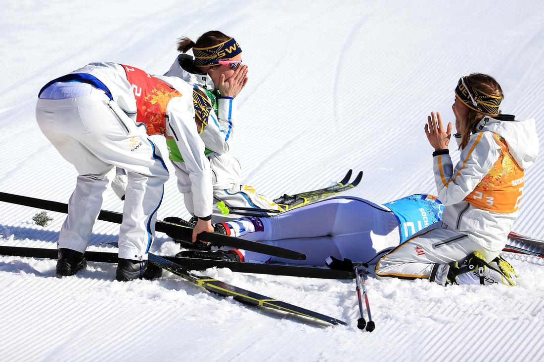 cross country skiing women