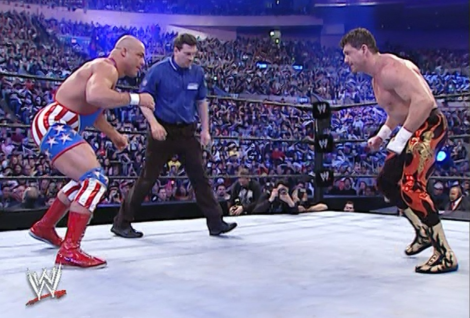 Image result for kurt angle vs eddie guerrero