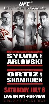 UFC 61 Banner