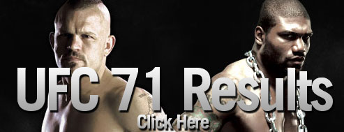 UFC 71 results live - play by play