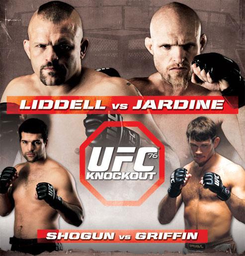 UFC 76 Tickets
